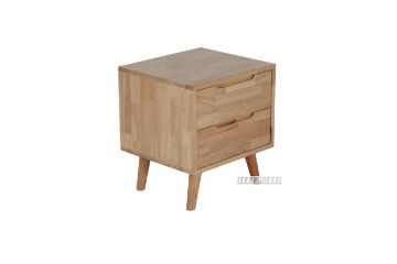 Picture of Kotuku 2D Bedside Table  *Rubber Wood