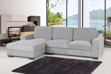 Picture of MODA L Shape Corner Sofa *Grey