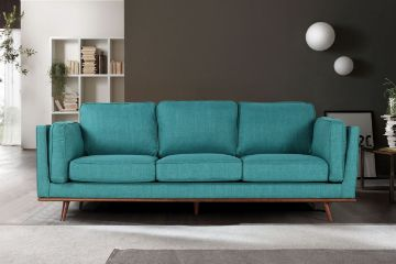 Picture of PANAMA 3+2+1 Sofa Range *Beach Blue