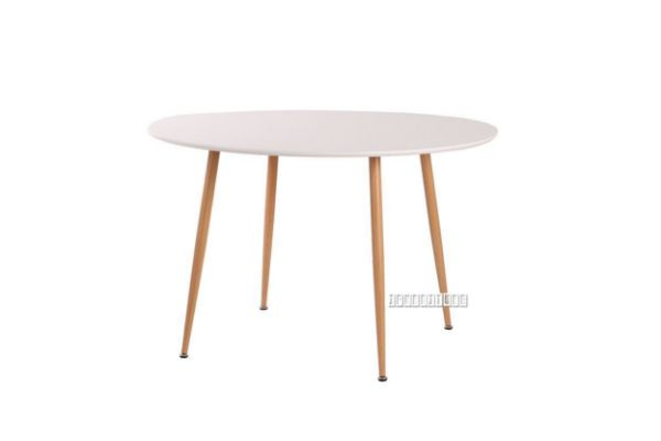 Picture of OSLO 120 Round Dining Table *Matt White