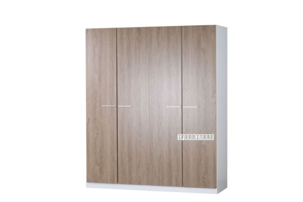 Picture of WADEBRIDGE 4 Door Wardrobe *Woodgrain