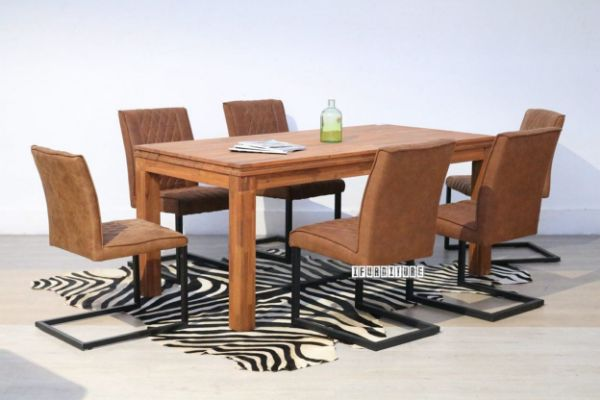Picture of ASTON Acacia 180 7Pc Dining Set
