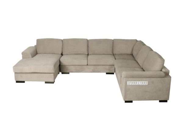 Picture of BOLTON 6 Seater Reversible Sectional Modular Sofa *Light Grey