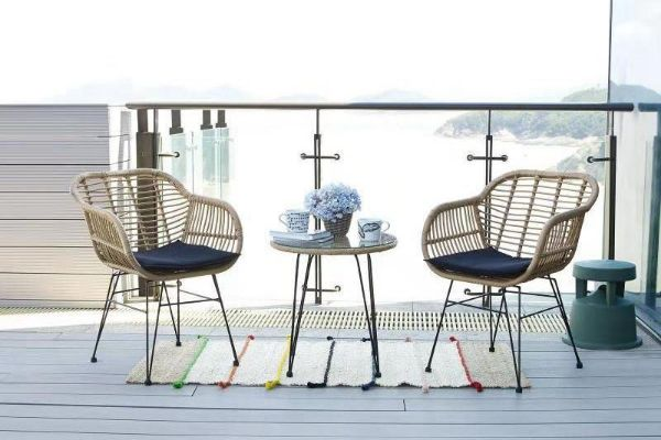 Picture of TIFFIN 3PC Indoor / Outdoor Dining Set