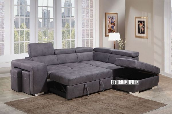 Fabulous Positano Sectional Sofa Sofa Bed With Storage 2 Ottomans Gmtry Best Dining Table And Chair Ideas Images Gmtryco