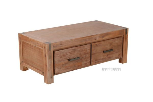 Picture of Bourke 2Drawers Acacia Coffee Table