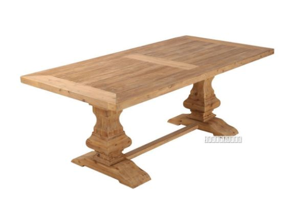 Picture of Salerno 2.0 /2.4m Dining Table *Solid Acacia
