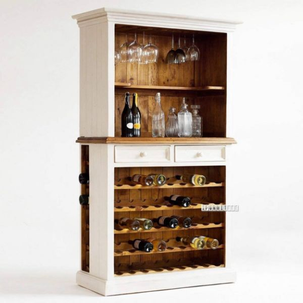 Picture of Bodde Wine Buffet/ Display Cabinet *Pine Wood