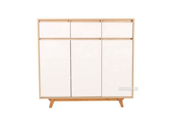 Picture of RENO 3Drw 3Dr Shoe Cabinet