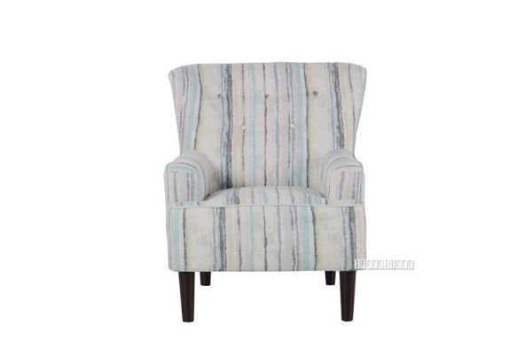 Picture of NEWBURY Lounge Chair *Blue Stripe
