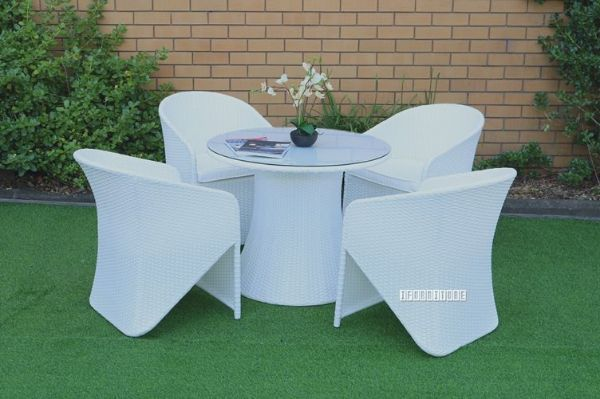 Picture of Veneto 5 PC Outdoor Dining Set * Aluminium Frame