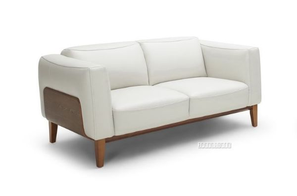 Picture of Huddersfield 3+2 Sofa - White *100% Genuine Leather