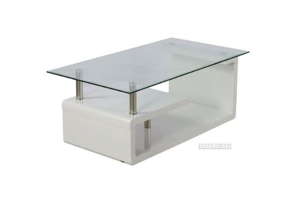 Picture of Swiss coffee table *Gloss White