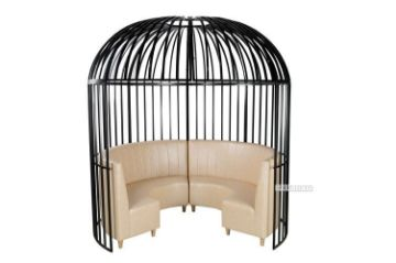 Picture of Birdcage Gazebo with Sofa * Metal Frame