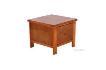 Picture of METRO Pine Lamp Table* Caramel