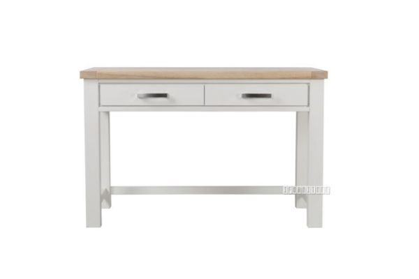 Picture of Sicily 120 Small Office Desk *Solid Wood - Ash Top