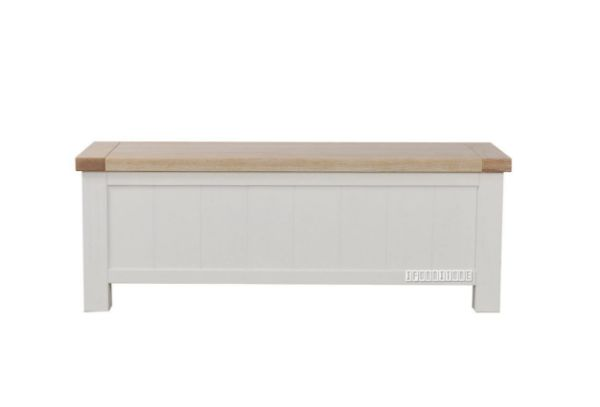 Picture of Sicily blanket box *solid wood - Ash top