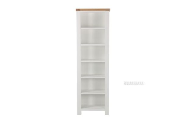 Picture of Sicily 190 Narrow Book Shelf * Solid Wood - Ash Top