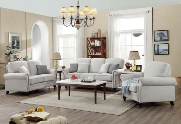 Picture of Andover 3+2+1 Sofa Range * Light Grey