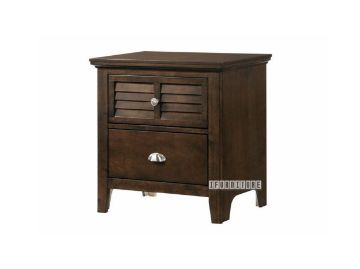 Picture of Harbor 2D Bedside Table *  Brown
