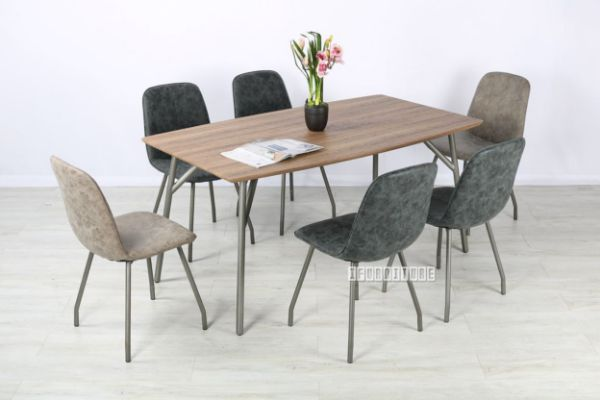 Picture of Danmark  160 7PC/ 190 9PC Dining Set