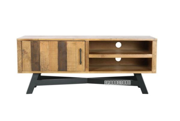 Picture of BARBADOS Reclaimed Timber 120 Small Entertainment Unit