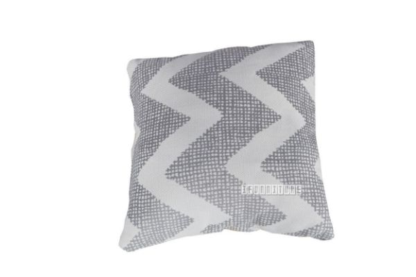 Picture of Jenny Pillow/Cushion * Grey Zigzag