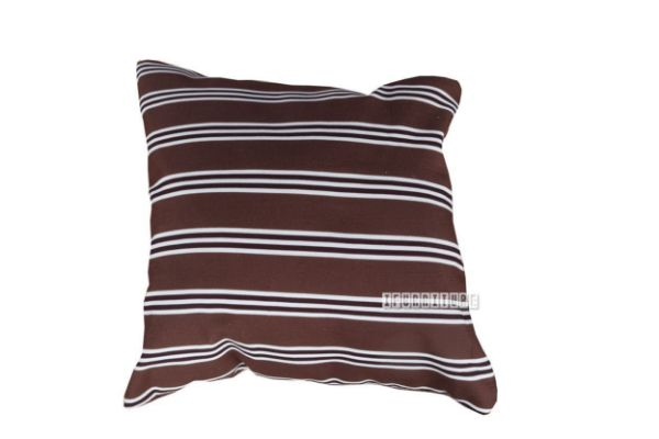 Picture of Jenny Pillow/Cushion * Brown-White Stripe
