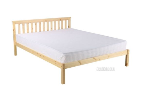 Picture of Snow White  Pine Frame + Sally Mattress Combo * Queen Size