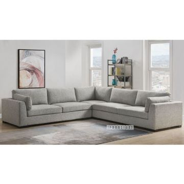 Picture of Walcott L Shape Sectional Sofa in Light Grey