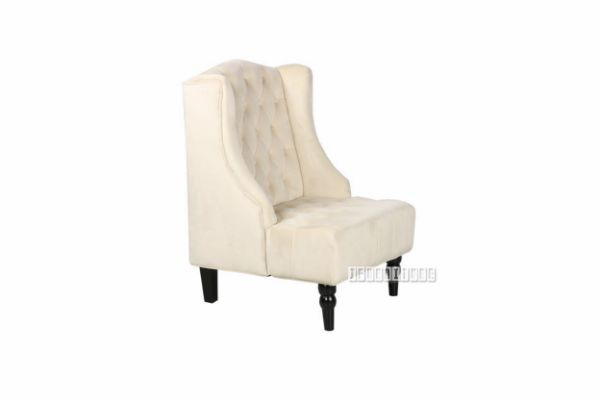 Picture of Repton Lounge Chair * Velvet Beige