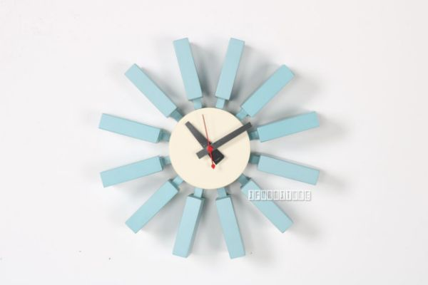 Picture of Sterling Wall Clock * Blue