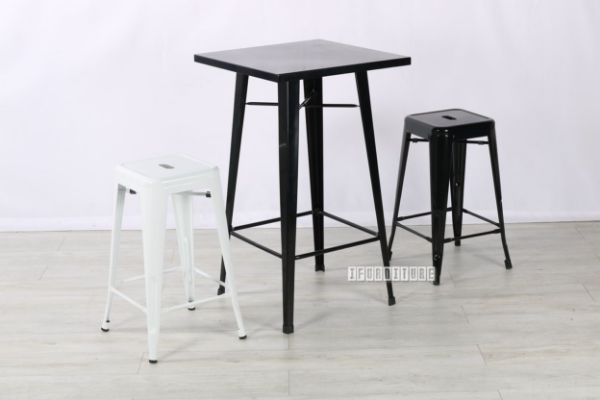 Picture of TOLIX Replica Black Bar Set Combo  With Multi Colors  Stools