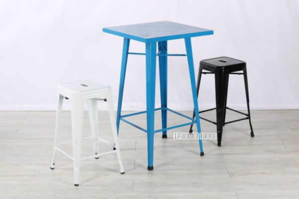 Picture of TOLIX Replica Blue Bar Set Combo  With Multi Colors  Stools