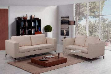 Picture of Cindy 3+2 Leather SOFA RANGE *Beige