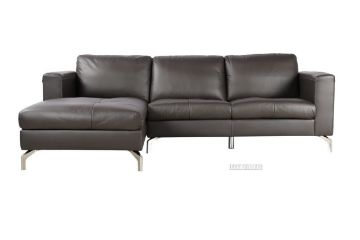 Picture of Cindy L Shape Leather SOFA RANGE *Dark