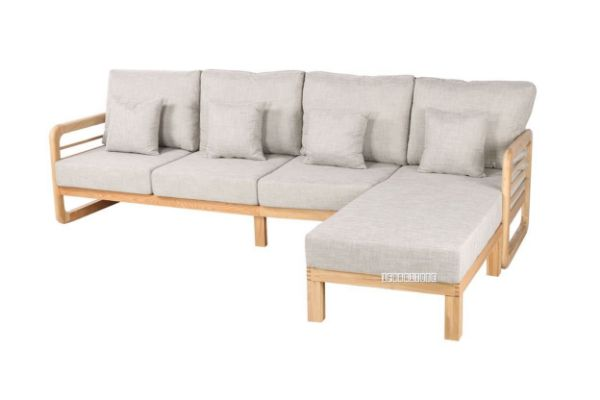 Picture of Alton LShape Reversible Sectional Sofa *Solid Oak