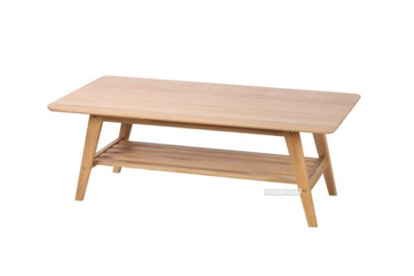Picture of Berkely Solid OAK Coffee Table with Shelf