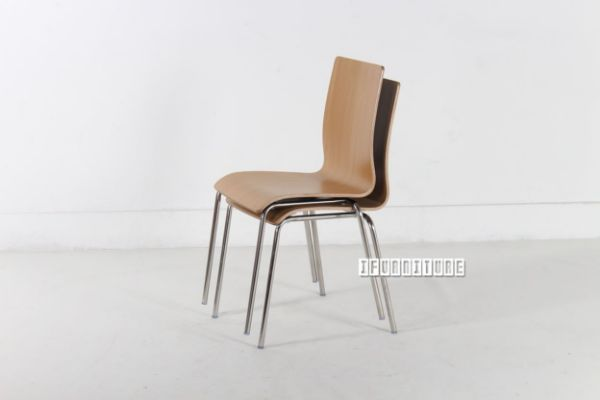 Picture of Odin Bi-color Bent Wood Chair