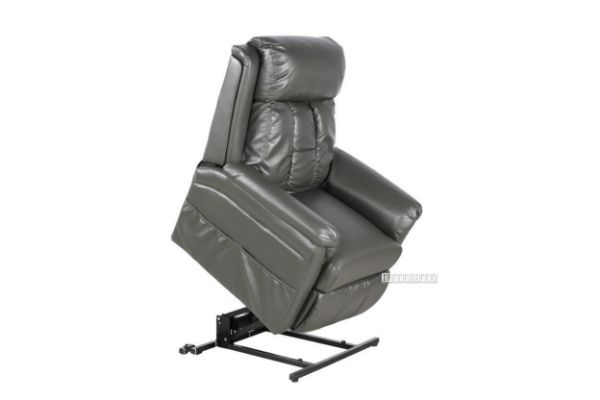 Picture of Alden Electrical Recliner Lift with Massage Chair *Air Leather