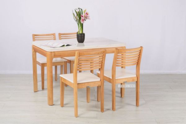 Picture of Martisan 5pc Dining Set *Marble Top