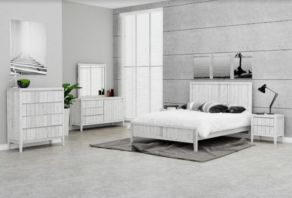 Picture of Lester Bedroom Combo in Queen Size *Reclaimed Pine