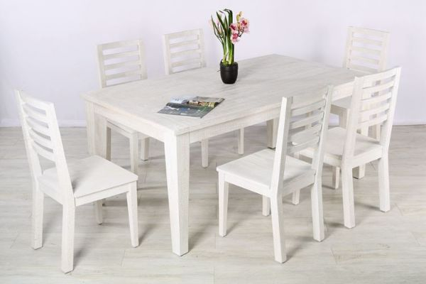 Picture of Lester 180 7pc Dining Set * Reclaimed Pine