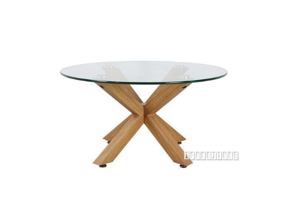Polo Glass 80 Round Coffee Table