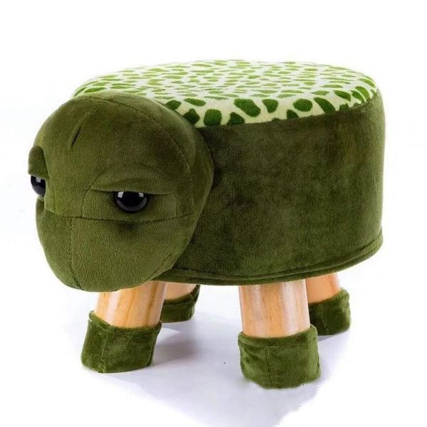 Picture of PLUSH ANIMAL FOOT STOOL *Turtle