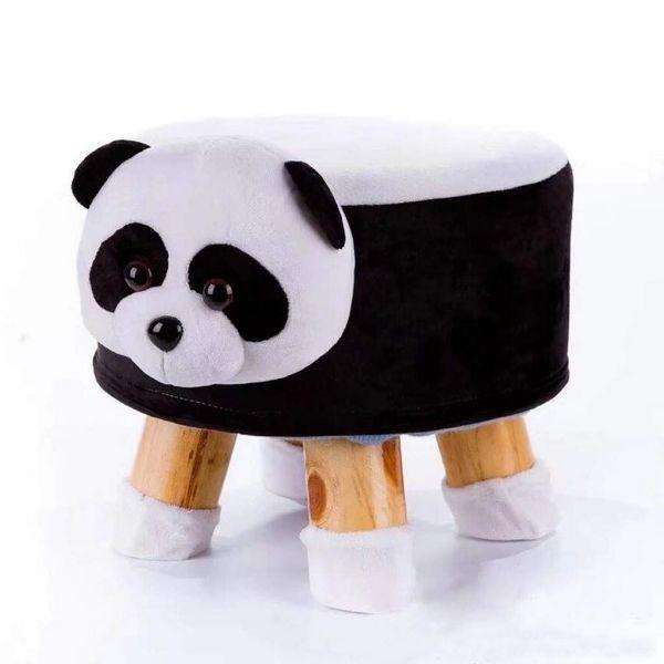 Picture of PLUSH ANIMAL FOOT STOOL *Panda