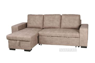 Picture of MOIRA Sectional Sofa/ Sofa Bed with Storage *Taupe