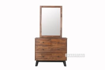 Picture of Calla Dressing Table + Mirror *Solid Acacia