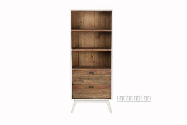 Picture of Maurus 2drw  Small BookShelf *Recycle Pinewood