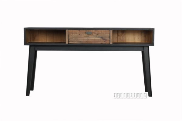 Picture of Maurus  Console Table Black *Recycle Pinewood